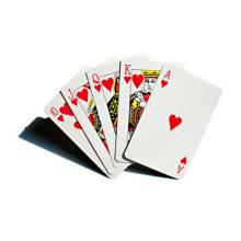 Cartão de papel de impressão personalizado para jogar no jogo685