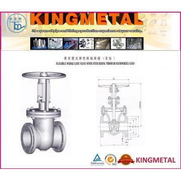 Válvula de compuerta de acero fundido clase 150 ~ 1500