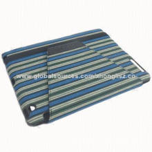 Stripe Fabric 360 Rotating Stand Case for iPad
