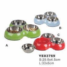 Fluorescence Pet Bowl, Aluminum Dog Bowl (YE83769)