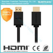 Macho de alta velocidade versão 2.0 para cabo macho HDMI para HD