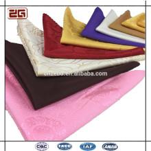 Jacquard Personalizado 50 * 50cm Hotel de la boda Elegante paño de mesa de algodón servilletas