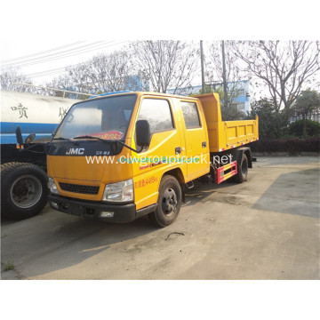 JMC 4tons waste transport tipper garbage truck
