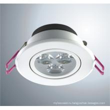 Светодиодный светильник (FLT02-D67C) (матовая Белая)