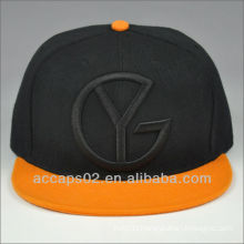 custom 6 panel snap back hats