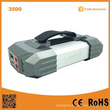 Carregamento USB recarregável para camping tocha luz