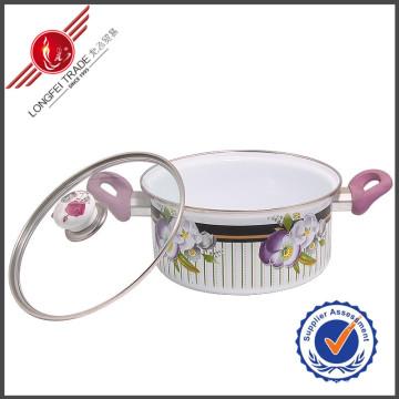 Vaisselle écologique de cuisine d'émail d'ustensiles de cuisine d'émail