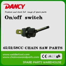 4500 5200 5800 petrol chainsaw parts on off switch
