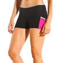 Desgaste de la aptitud al por mayor, desgaste de la aptitud de las mujeres, pantalones cortos de la yoga (YG-54)