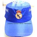 Cheap High Quality Flat Peak Hat Embroidered Sports Baseball Caps