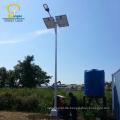 feuerverzinktem Stahl photovoltaikzelle 100 watt solar led-bild licht