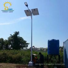 cellule photovoltaïque en acier galvanisé à chaud 100w solaire a mené la lumière d'image