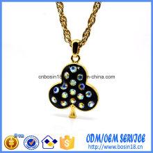 Custom Cheap Dubai Gold Plating Pendant Necklace for Wholesale