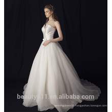 Elegance Off-The-Shoulder wedding dress bridal gown TS309