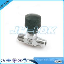 SS one piece micro needle valve