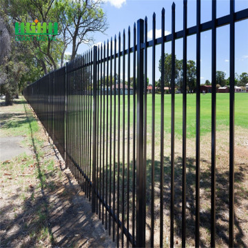 Anti+Rust+PVC+Coated+Galvanized+Wall+Boundary+Steel+Fence+Design