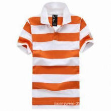 Popular Men's Polo Shirt with Quick Dry/ Anti-bacteria Performance, Various Designs Available