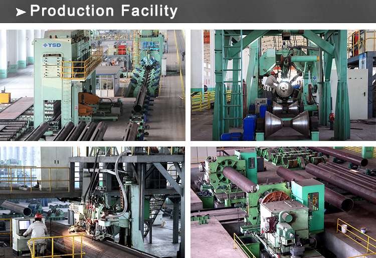 lsaw pipe production facility