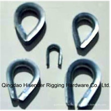 Carbón galvanizado acero Bs464 cable dedal