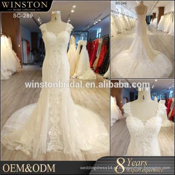Novo vestido feito sob encomenda feito sob encomenda do casamento de China Guangzhou