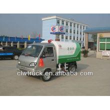 2500L mini camión de basura sellado