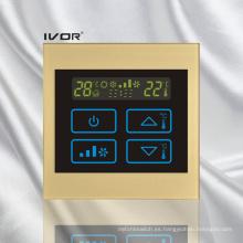 Interruptor táctil del termóstato del acondicionador de aire en el capítulo de acrílico (SK-AC100B)