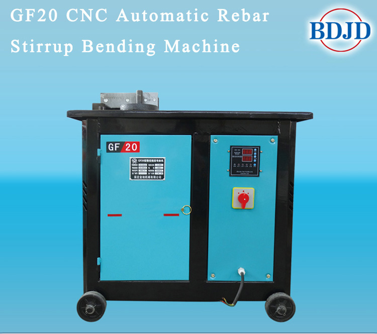 rebar stirrup bending machine