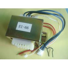 transformateur amplificateur de tube audio