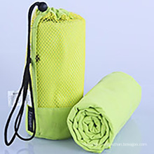 High color fastness and durable microfiber workout sport towel custom printed non slip yoga mat towels