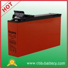 Long Life 150ah 12V Sistema Solar Frente Terminal AGM Battery