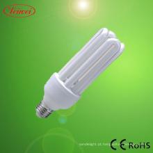 4U CFL de 30-45W E27 lâmpada de poupança de energia