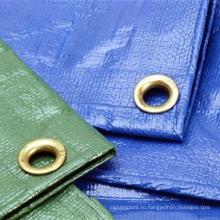 Сделано в Китае пластиковый лист алюминий проушина брезента PE