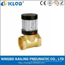 Válvula de pistão pneumática material de bronze do caminho da maneira de Q22HD-40 2/2