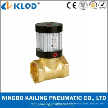 Q22HD-40 2/2 Way Piston Type Brass Material Pneumatic Piston Valve