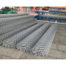 Low Carbon Hot Dipped Galvanized Chain Link Mesh