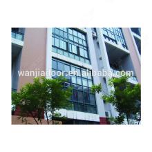 Spitzen-Aluminium-Vorhangfassade mit Punktbefestigung aus Aluminium