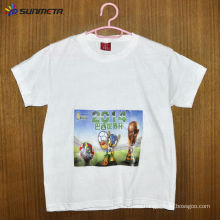 100% Cotton White Full Sublimation T-Shirt