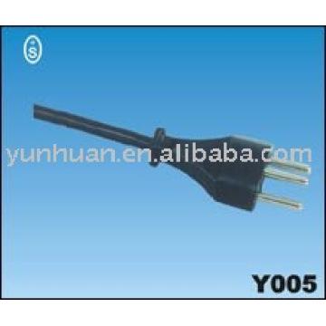 Power Kabel 230v Schweizer CH Zulassung Netzkabel führen kpl