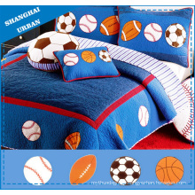 4 PCS Kids Bedding Cotton Quilt & Bed Spread