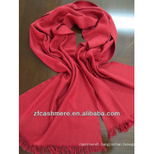 cashmere and silk worsted woven scarf