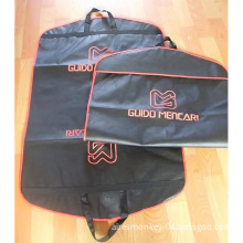 Black Suit Cover with Silkscreen Printing Logo