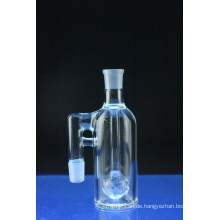 Mini Crystal Ball Ashcatcher Rauchglas Wasserrohr abgewinkelt (ES-GB-580)