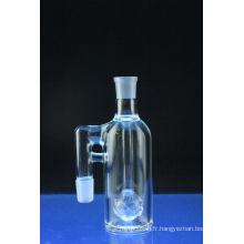 Mini Crystal Ball Ashcatcher fumant le tuyau d'eau en verre à angle articulé (ES-GB-580)