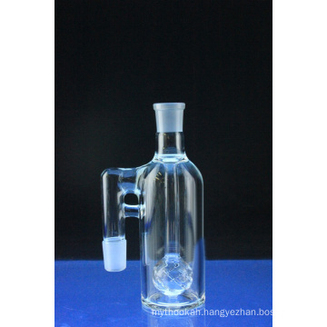 Mini Crystal Ball Ashcatcher Smoking Glass Water Pipe Angled Joint (ES-GB-580)