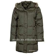 New fashion women winter clothes with fur hood