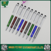 Metal Diamond Smart Touch Ball Pen