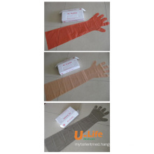 Veterinary Glove Made by PE
