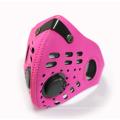 Motocicleta corrida respirável confortável elástica máscara facial bicicleta / moto máscara de carbono