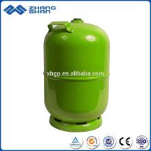 Cylindre de GPL de réservoir de gaz vide de haute performance 5kg pour le Ghana