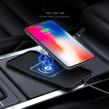 Wireless Fast Charging Car Charger PVC 10W